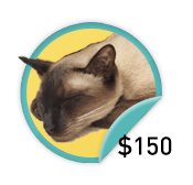 Siamese Dreamer - for those dreamers who have raised $150