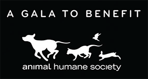A gala to benefit Animal Humane Society