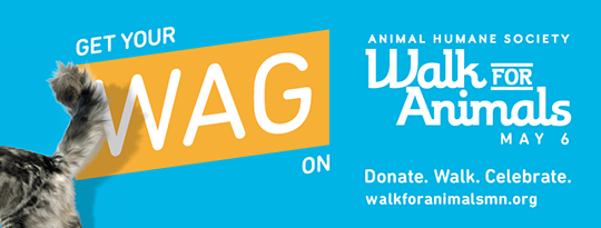 Get your Wag on - Walk for Animals artwork