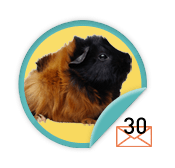 Guinea Pig Chatterer  - for those ambitious types who have sent 30 emails