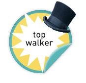 Top Walker - for those veteran walkers who raised $500 or more last year