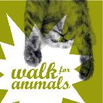 Walk for Animals - Cat Logo